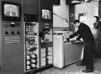 Early Ampex Quad VTR picture